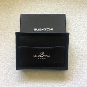 Leather Bugatchi Card Case